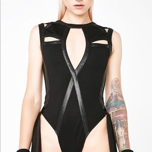 Dolls Kill Queen Of The Underworld Bodysuit